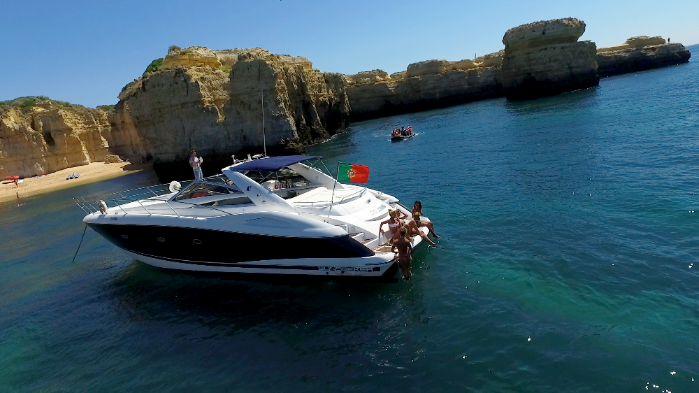 Afternoon Luxury Cruise - Luxury Yacht Charter Algarve - Vilamoura