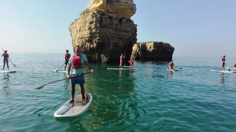 SUP Sea Caves Tour - SUP and Surfing