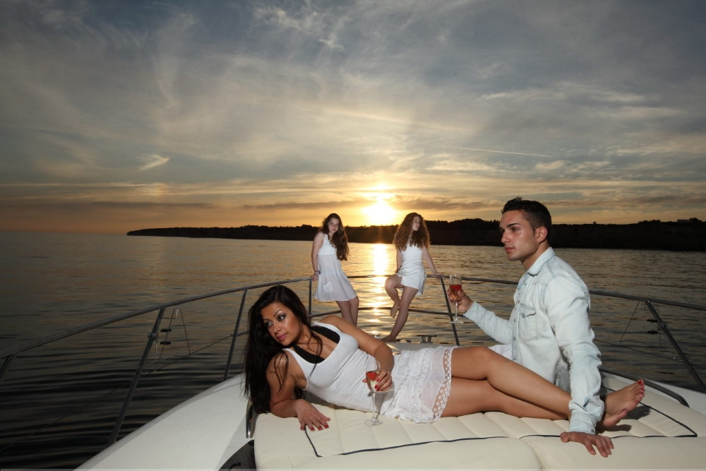 Luxury Sunset Cruise - Luxury Yacht Charter Algarve - Vilamoura