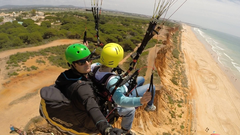 Paragliding experience in Vilamoura - In the Air - Vilamoura