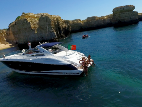Afternoon Luxury Cruise - Explore Algarve Yacht For Hire