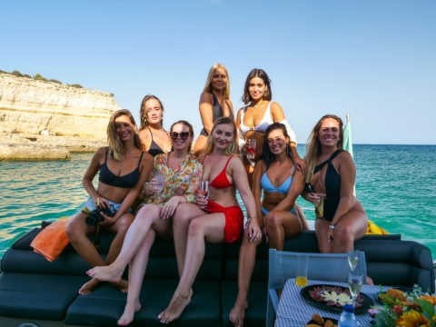Algarve Discovery Cruise 10 Hours! - Princess V55 Motor Yacht