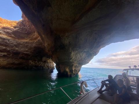 Benagil Cave Yacht Charter - Princess V55 Motor Yacht