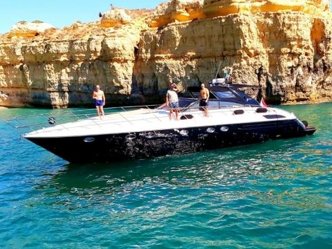 Princess V55 Motor Yacht Charter - Benagil Cave Cruise